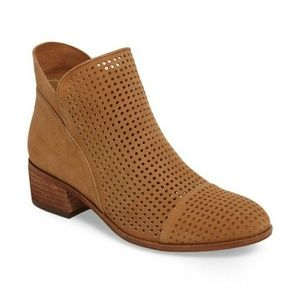 Sam Edelman Pamina Perforated Suede Bootie